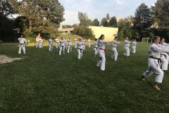 Training mit Akita Sensei Sportplatz Burgberg 4