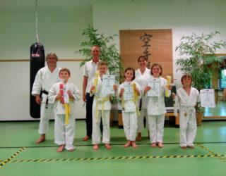 Kyu-Prüfungen vor den Ferien