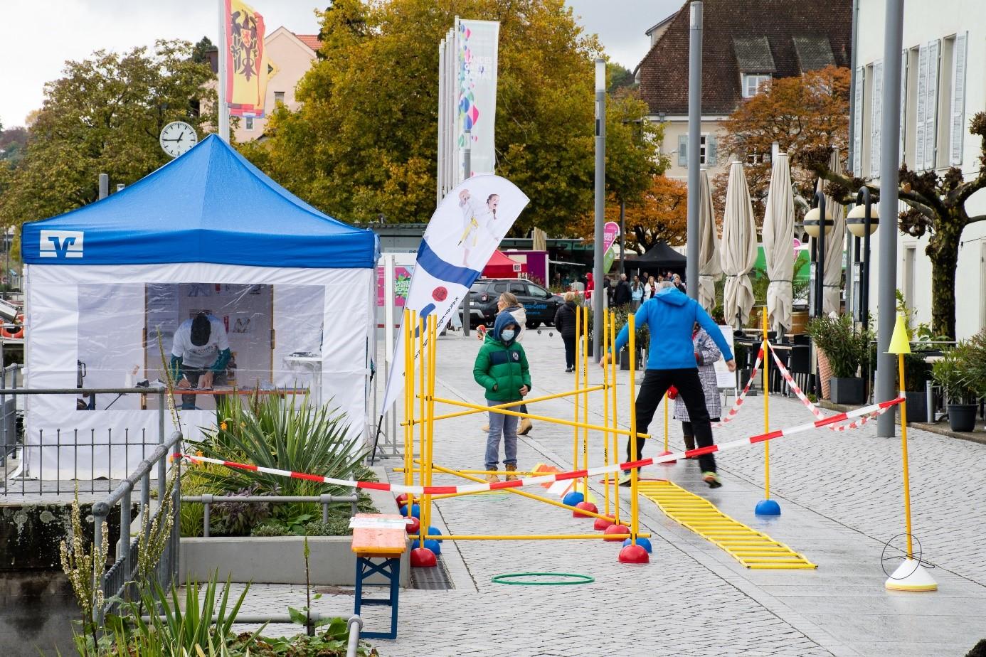 Kinderolympiade in Überlingen