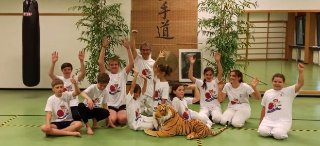 Unsere Yuki-Kids wünschen allen schöne Ferien!