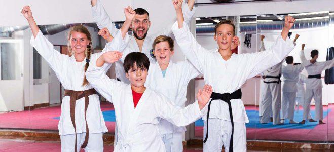 Karate-Anfängerkurs für Jugendliche